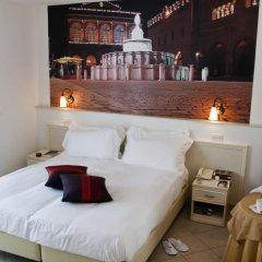Hotel Sovrana & Re Aqva SPA 4* Улучшенный номер двуспальная кровать фото 4