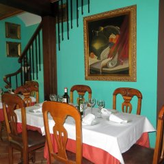 Отель Hostal Restaurante Reina питание