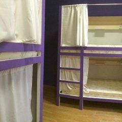 Хостел Плед на Самотёчной Кровать в общем номере с двухъярусной кроватью