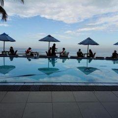 Отель Nippon Villa Beach Resort Хиккадува бассейн фото 3