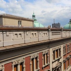 Апартаменты Moment Boutique Apartment балкон