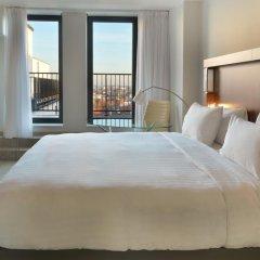 Отель Courtyard by Marriott Brussels EU 4* Стандартный номер с различными типами кроватей фото 2
