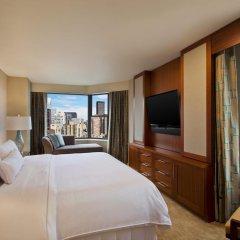 Отель Westin New York Grand Central 4* Семейный номер категории Премиум с двуспальной кроватью