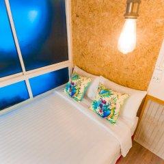 Отель Glur Bangkok Люкс повышенной комфортности разные типы кроватей фото 3
