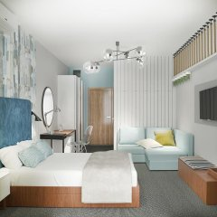 Гостиница MoreLeto 3* Номер Комфорт с разными типами кроватей