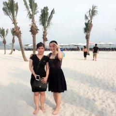 Отель Thang Long Guesthouse пляж
