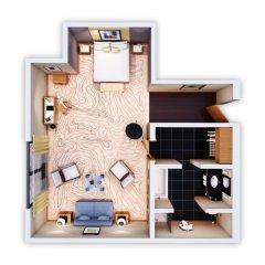 Отель Le Méridien Munich 5* Полулюкс с различными типами кроватей фото 8