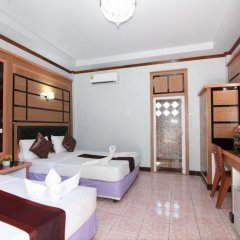 Отель Lanta Paradise Beach Resort 3* Улучшенное бунгало с различными типами кроватей фото 3