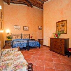 Отель Villa Di Nottola 4* Номер Делюкс с различными типами кроватей