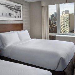 Отель DoubleTree by Hilton New York Downtown 4* Стандартный номер с различными типами кроватей фото 3