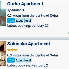 Апартаменты Solunska Apartment Апартаменты фото 40