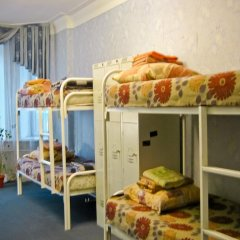 Хостел Достоевский Кровать в общем номере с двухъярусной кроватью фото 11