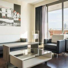 Отель ILUNION Barcelona 4* Улучшенный номер с различными типами кроватей фото 3