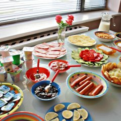 Holiday Hostel питание фото 2
