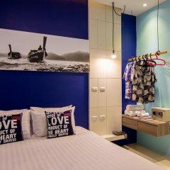 Отель The Journey Patong 3* Стандартный номер с различными типами кроватей фото 9