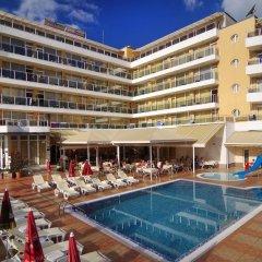Отель Plamena Palace Болгария, Приморско - 2 отзыва об отеле, цены и фото номеров - забронировать отель Plamena Palace онлайн бассейн