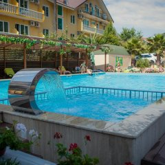 Отель Экодом Адлер Сочи бассейн фото 3