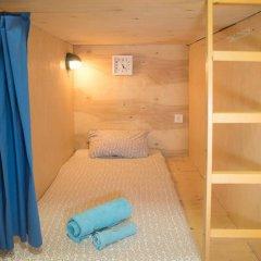 Хостел Архитектор Кровать в общем номере с двухъярусной кроватью фото 13