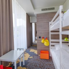 Hotel Lielupe by SemaraH 4* Стандартный семейный номер с двуспальной кроватью фото 5