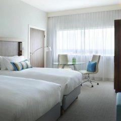 Отель Courtyard by Marriott Brussels EU 4* Стандартный номер с различными типами кроватей фото 7