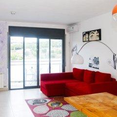 Апартаменты Fira Barcelona View Montjuic Apartments комната для гостей фото 3
