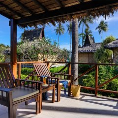 Отель Phi Phi Island Village Beach Resort 4* Улучшенное бунгало с различными типами кроватей фото 6