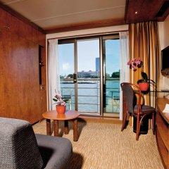 Отель Regis Hotelschiff Düsseldorf Германия, Дюссельдорф - отзывы, цены и фото номеров - забронировать отель Regis Hotelschiff Düsseldorf онлайн комната для гостей фото 2
