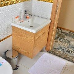 Отель Inan Kardesler Bungalow Motel ванная