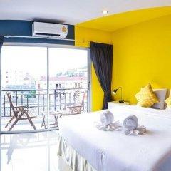 Отель Two Color Patong Номер Делюкс с двуспальной кроватью фото 18