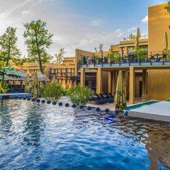 Отель Bambara Hotel Premium Венгрия, Силвашварад - отзывы, цены и фото номеров - забронировать отель Bambara Hotel Premium онлайн бассейн фото 2