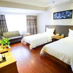 Отель Insail Hotels Railway Station Guangzhou 3* Стандартный номер с различными типами кроватей фото 3