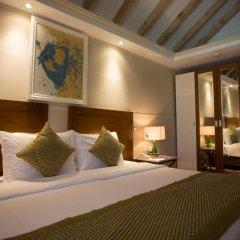 Отель Ellaidhoo Maldives by Cinnamon 4* Улучшенный номер с различными типами кроватей фото 2