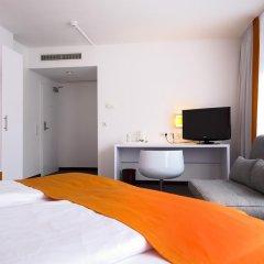 Отель Wyndham Garden Düsseldorf City Centre Königsallee Германия, Дюссельдорф - отзывы, цены и фото номеров - забронировать отель Wyndham Garden Düsseldorf City Centre Königsallee онлайн комната для гостей фото 5