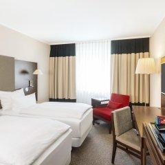 Hotel NH Düsseldorf City Nord 4* Стандартный номер разные типы кроватей фото 5
