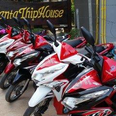 Отель Lanta Thip House Ланта парковка