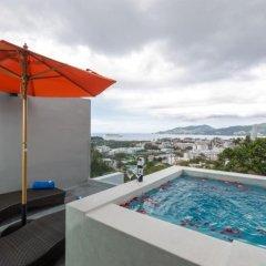 Отель Patong Bay Hill Resort 4* Люкс с двуспальной кроватью
