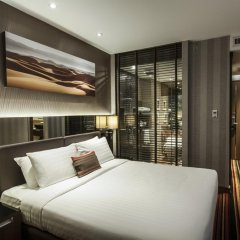 Отель The Continent Bangkok by Compass Hospitality 4* Номер Делюкс с различными типами кроватей фото 3