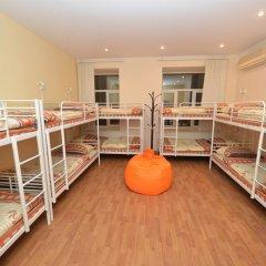 Хостел Абрикос Кровать в общем номере с двухъярусными кроватями фото 10