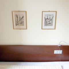 Отель Goldener Schlüssel 3* Стандартный номер с различными типами кроватей фото 10