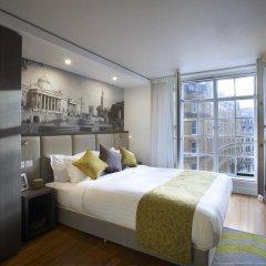 Отель Citadines Trafalgar Square London 3* Студия с различными типами кроватей фото 3
