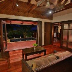 Отель Wananavu Beach Resort 4* Бунгало с различными типами кроватей фото 5