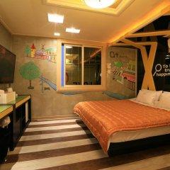 Haeundae Grimm Hotel 2* Номер Делюкс с различными типами кроватей фото 38