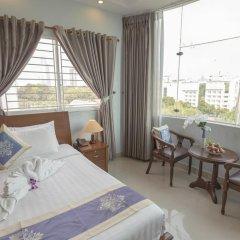 7S Hotel My Anh 2* Номер Делюкс с различными типами кроватей фото 4