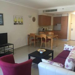 Апартаменты Apartment on the Beach Хайфа комната для гостей фото 2