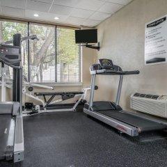 Отель Quality Inn & Suites Mall Of America - Msp Airport Блумингтон фитнесс-зал