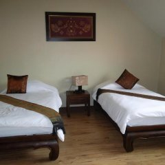 Отель Villa Thongbura 3* Студия с различными типами кроватей фото 21