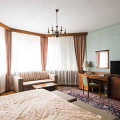 Президент-Отель 4* Номер Делюкс с двуспальной кроватью фото 11