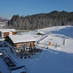 Отель Der Waldhof спортивное сооружение