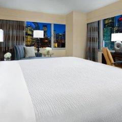 Отель Crowne Plaza Times Square Manhattan 4* Стандартный номер с двуспальной кроватью фото 6