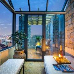 Отель Hangzhou Hua Chen International 4* Улучшенный номер с различными типами кроватей фото 5